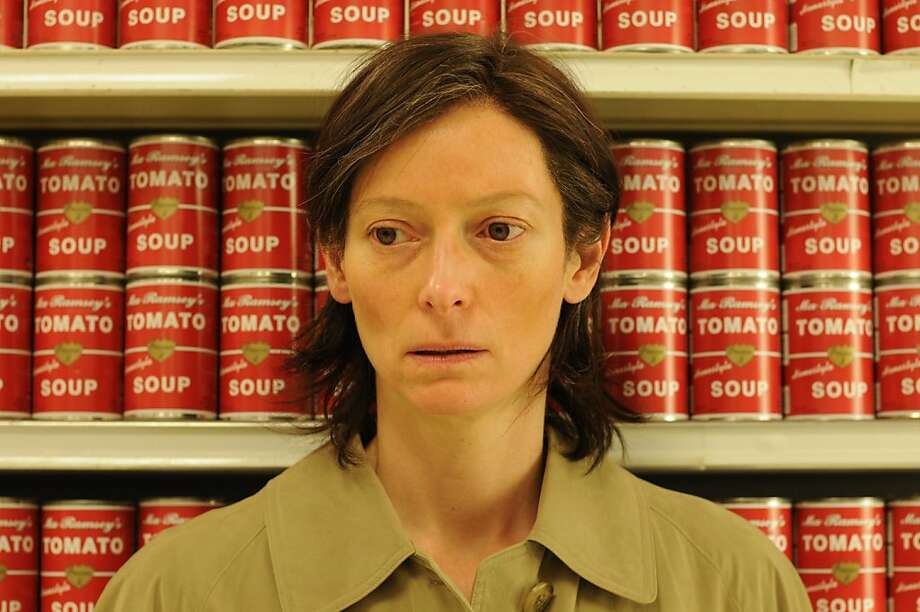 Tilda Swinton in WE NEED TO TALK ABOUT KEVIN Photo: Oscilloscope Films