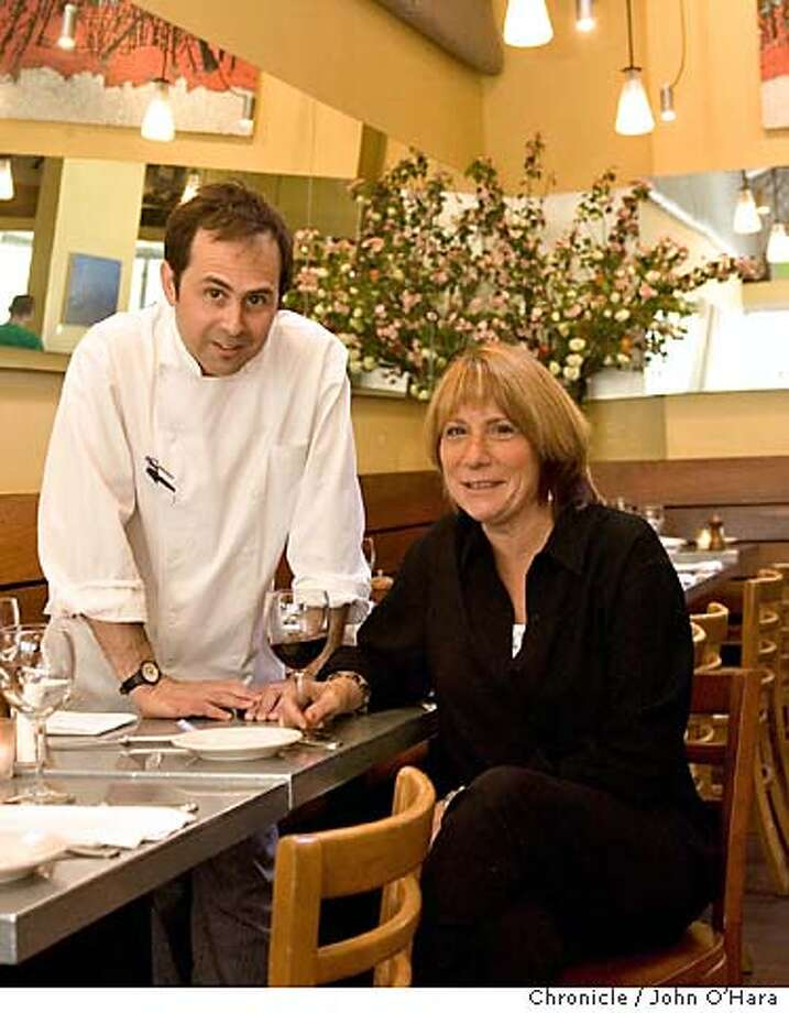 Delfina Resturant, 3621 18th st. San Francisco, CA  Jesse Cool at her favorite resturant, Delfina. Chef Craig Stoll is in some of the photos  Photo/John O'hara Photo: JOHN O'HARA