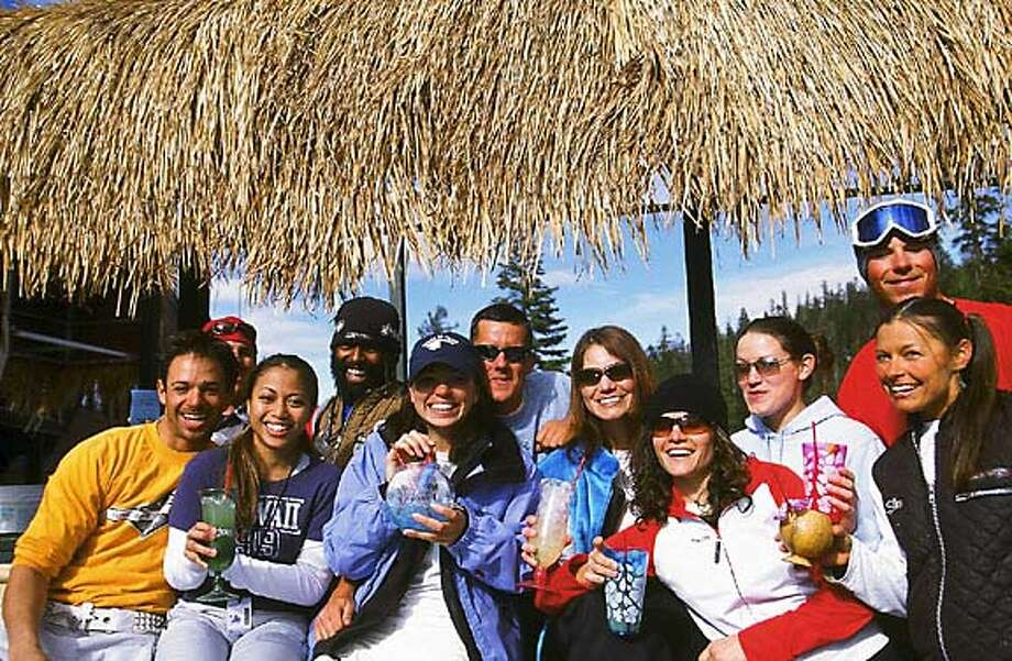 TRAVEL SKITAHOE -- The Tiki Bar at Sierra-at-Tahoe. Credit: Courtesy of Sierra-at-Tahoe/Hank De Vre Sierra at Tahoe. Travel#Travel#Chronicle#11/7/2004#ALL#Advance##0422399704 Photo: Handout