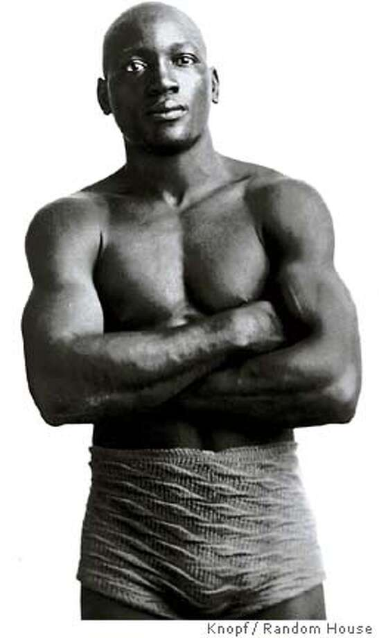 "Boxer Jack Johnson, in 1901 at age 23, subject of the book, ""Unforgivable Blackness / The Rise and Fall of Jack Johnson"" (Knopf)  PHOTO FROM THE BOOK / TO BE USED WITH BOOK REVIEW ONLY"