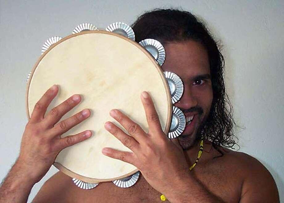 Brazilian percussionist Emiliano Benevides