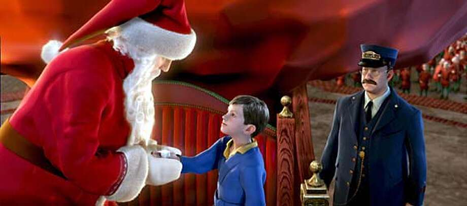 """""""A Scene from """"The Polar Express,"""" distributed by Warner Bros. Pictures."""" PHOTOGRAPHS TO BE USED SOLELY FOR ADVERTISING, PROMOTION, PUBLICITY OR REVIEWS OF THIS SPECIFIC MOTION PICTURE AND TO REMAIN THE PROPERTY OF THE STUDIO. NOT FOR SALE OR REDISTRIBUTION. Datebook#Datebook#SundayDateBook#11/7/2004#ALL#Advance##0422444589"""