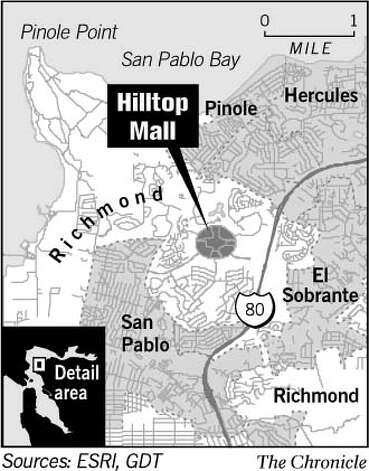 Hilltop Mall. Chronicle Graphic