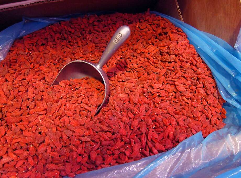 Dried goji berries Photo: Pam Peirce
