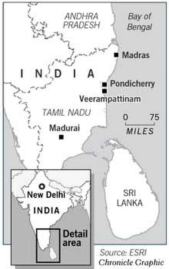 Madurai, India. Chronicle Graphic