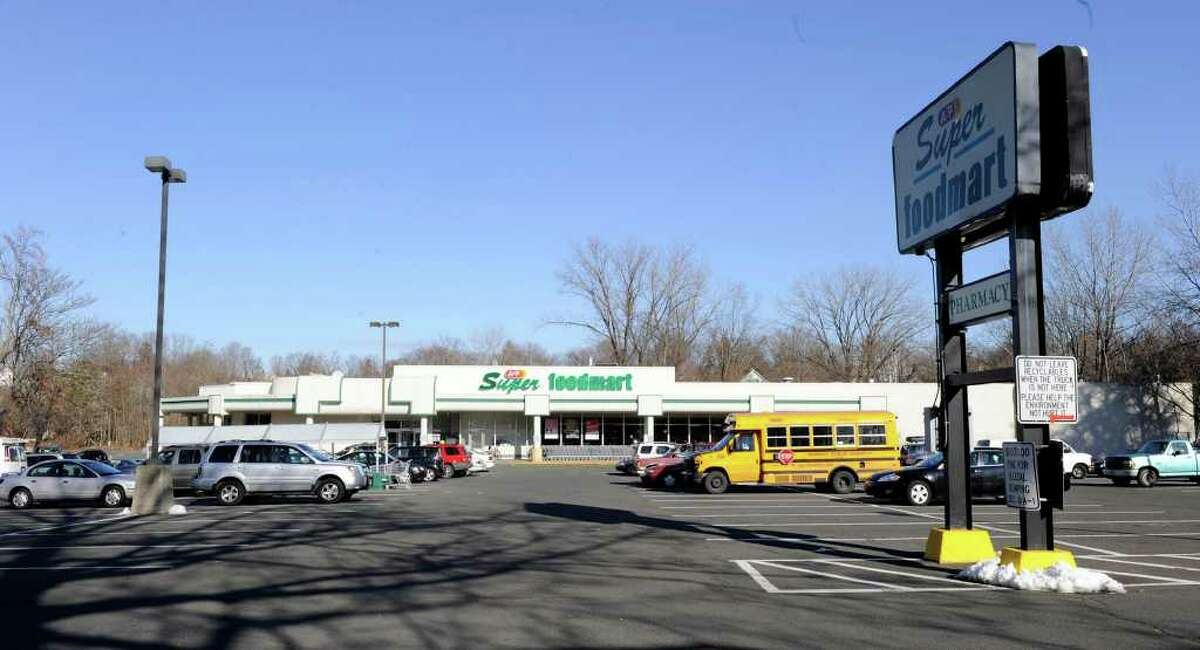 Company officials recently announced that the A&P located on southern Main Street in Danbury will close its doors. Photo taken Thursday, January 19, 2012.
