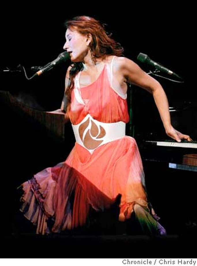 tori26_ch_152.jpg  Tori Amos performing at Davies Hall as part of a tour promoting her new album and autobiography. in San Francisco  4/24/05 Chris Hardy / San Francisco Chronicle Photo: Chris Hardy