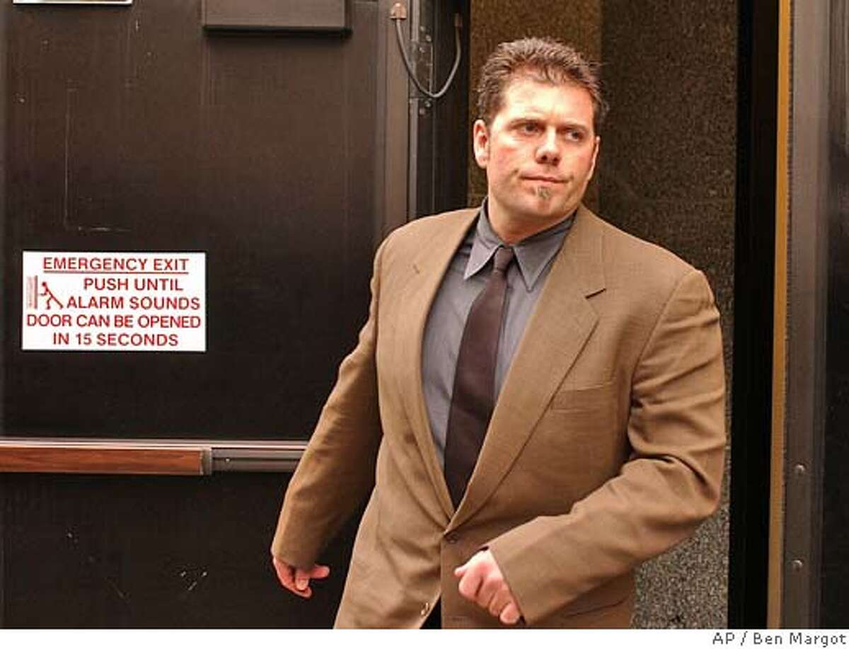 Greg Anderson, personal trainer to San Francisco Giants' Barry Bonds, leaves a federal courthouse Friday, Feb. 13, 2004, in San Francisco. Anderson is one of four men charged Thursday, Feb. 12, 2004, in a 42-count indictment alleging they ran a steroid-distribution ring that provided performance-enhancing drugs to dozens of athletes in the NFL, major league baseball and track and field. During a hearing here Friday all four pleaded innocent before Federal Magistrate Judge Maria-Elena James. (AP Photo/Ben Margot) Greg Anderson, Barry Bonds personal trainer since 1998. ProductNameChronicle Greg Anderson had permission to travel to Arizona next week, but Barry Bonds lawyer didnt think that was a good idea. Greg Anderson has permission to go to Arizona, but Barry Bonds lawyer says the Giants outfielder wont accompany Anderson. Greg Anderson has permission to go to Arizona, but Barry Bonds lawyer says the Giants outfielder wont accompany Anderson. Ran on: 06-16-2004 Ran on: 06-16-2004 Greg Anderson, Barry Bonds trainer, is accused of selling steroids to athletes. Ran on: 10-16-2004 Barry Bonds told MLB.com he was tested for steroids this year. Ran on: 10-16-2004 Ran on: 10-16-2004 Barry Bonds told MLB.com he was tested for steroids this year. Metro#MainNews#Chronicle#10/30/2004#ALL#5star##0421619359