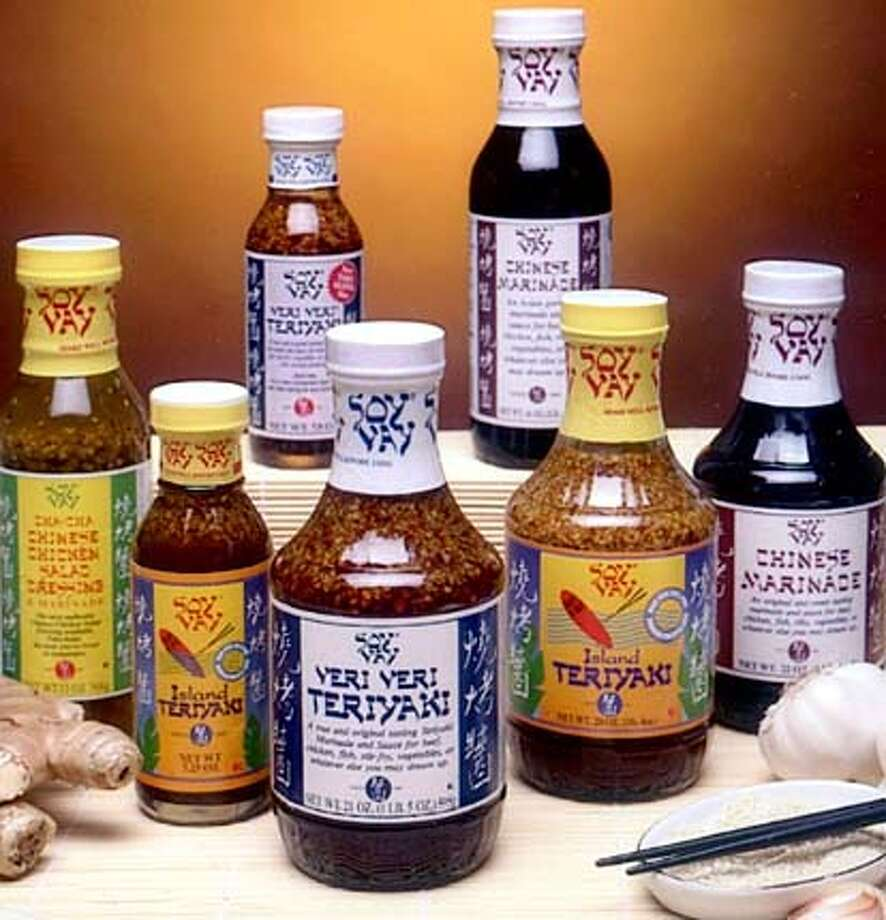 Eddie Scher's Soy Vay line has grown from his Veri Veri Teriyaki sauce to include a marinade and a salad dressing.