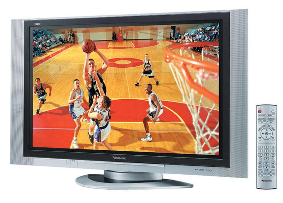Photo of the Panasonic 'TH-42PD25U' plasma TV.