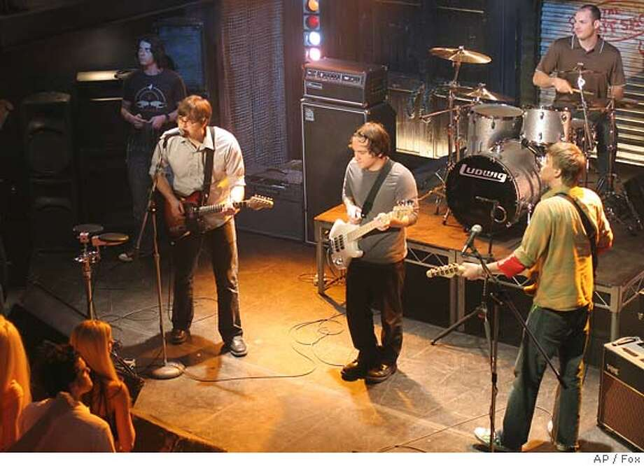"In this 2005 photo supplied by Fox, Death Cab for Cutie performs at The Bait Shop in an episode of ""The O.C"" airing Thursday, April 28, 2005, on Fox.(AP Photo,Fox) , 2005 PHOTO"
