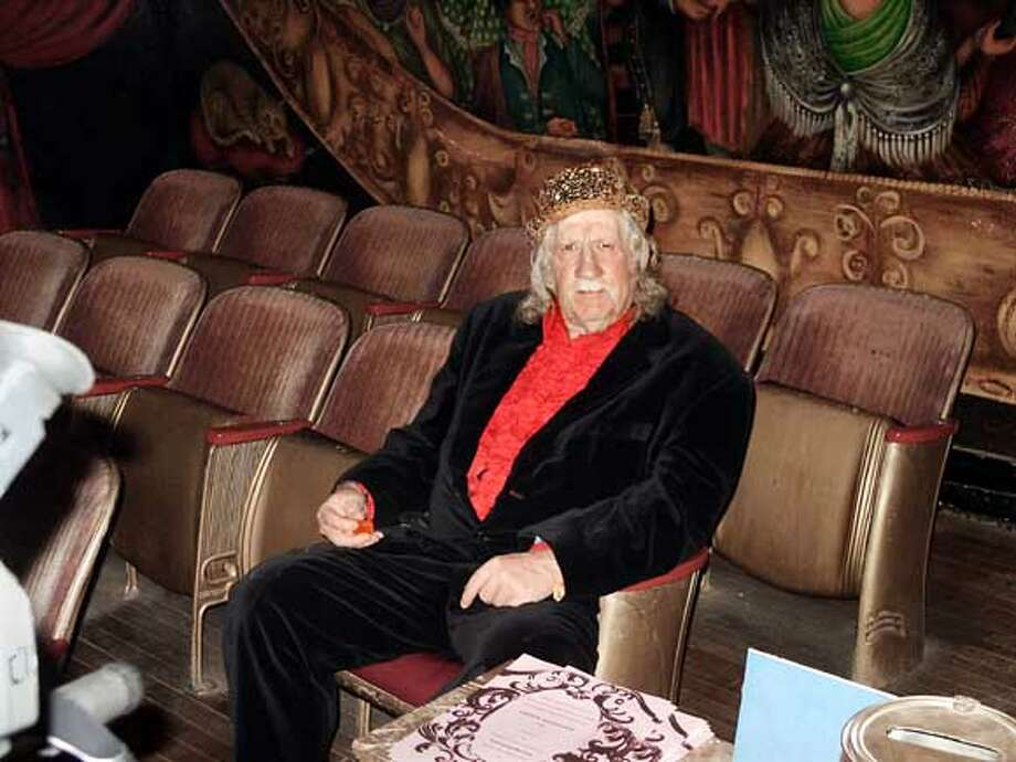 Obituary photo of Thomas Willett. Ran on: 04-25-2005  Thomas J. Willett was the partner of dancer Marta Becket at the theater in Death Valley Junction. Ran on: 04-25-2005