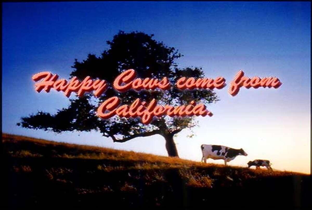 COWS-C-13OCT00-BU-HO--Ad from the CALIFORNIA MILK ADVISORY BOARD. ALSO RAN 10/10/02 CAT