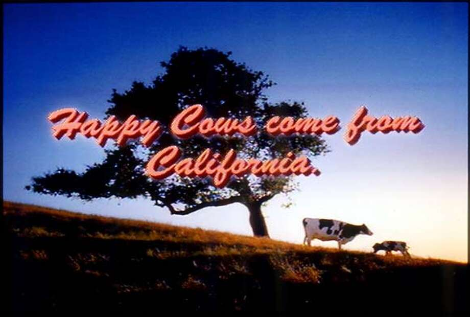 COWS-C-13OCT00-BU-HO--Ad from the CALIFORNIA MILK ADVISORY BOARD. ALSO RAN 10/10/02 CAT