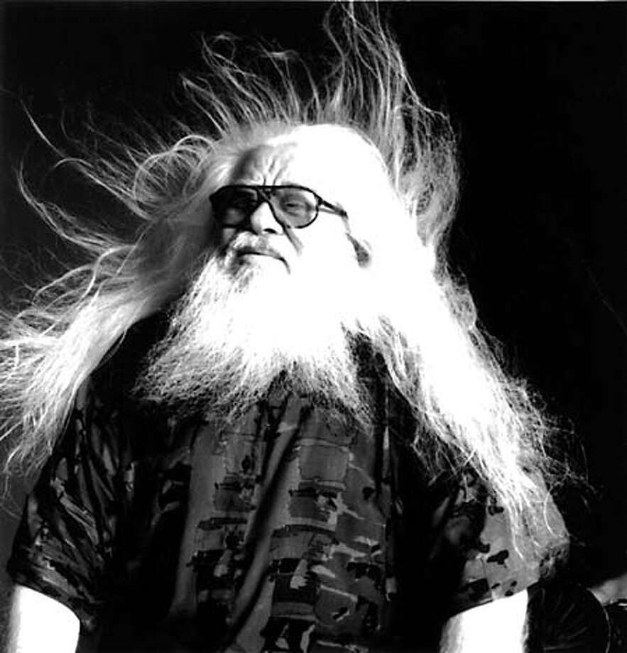 Photo of Hermeto Pascoal, Brazilian musician and composer. Datebook#Datebook#SundayDateBook#10-31-2004#ALL#Advance##0422425706
