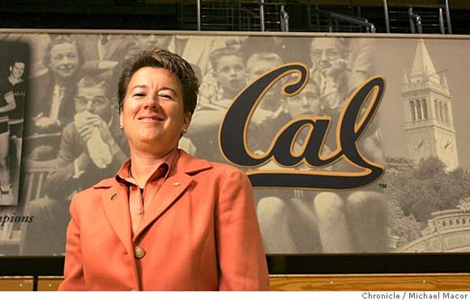 sandybarbour_005_mac.jpg UC Berkeley, Cal has a new Athletic Director , Sandy Barbour. 10/15/04 San Francisco, CA Michael Macor / San Francisco Chronicle Mandatory Credit for Photographer and San Francisco Chronicle/ - Magazine Out Sports#Sports#Chronicle#11/1/2004#ALL#5star##0422415176 Photo: Michael Macor