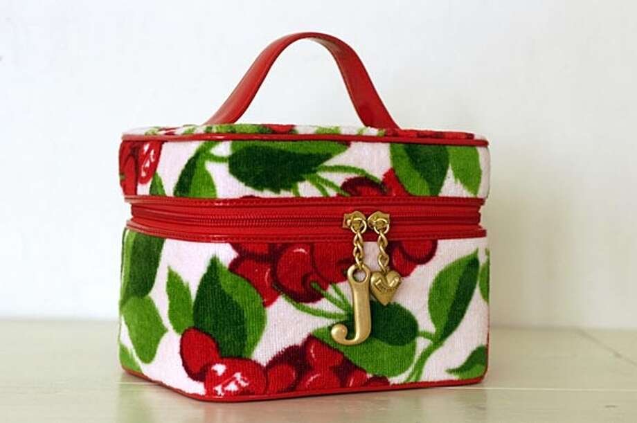 Juicy Couture Train Case.  Hand out Photo