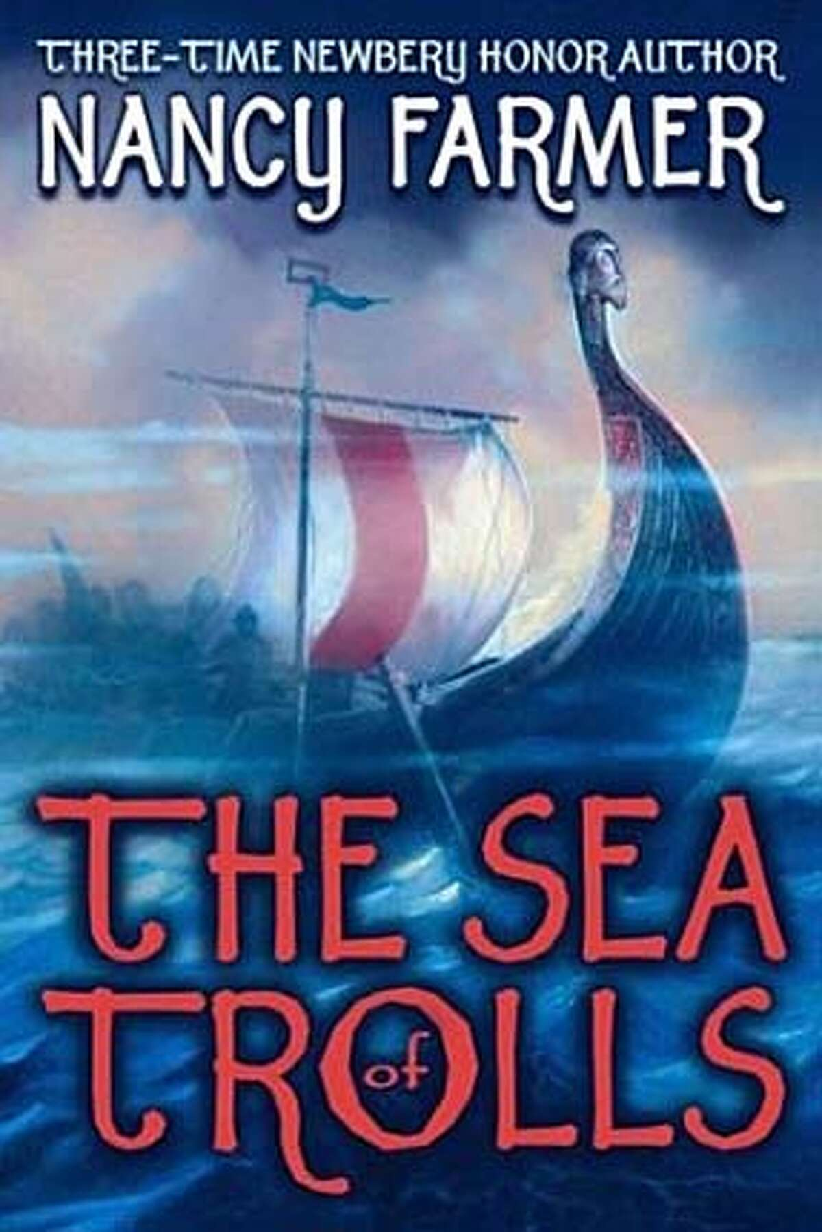 Book cover art for The Sea of Trolls.