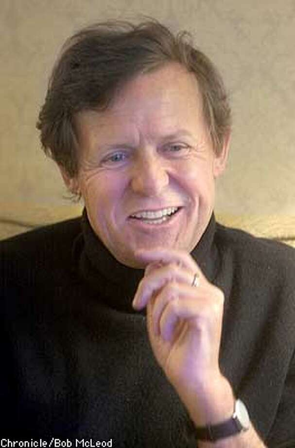 DAVID HARE, playright screenwriter. at the Ritz-Carlton hotel. chronicle photo by Bob McLeod Photo: BOB MCLEOD