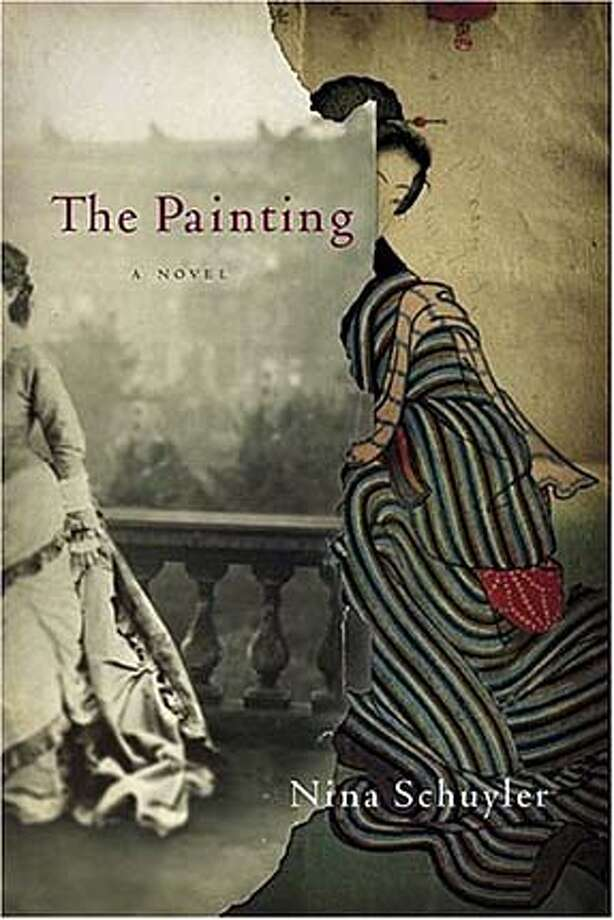 """Book cover art for """"The Painting"""""""