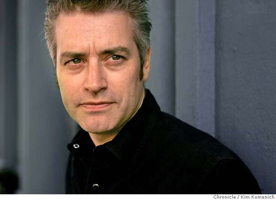 Songwriter John Wesley Harding will publish a novel set in Dickens time in April. He will publish it under his real name, Wes Stace. We caught up with him while he was mixing an album at the Hyde Street Studios.  Chronicle Photo by Kim Komenich in San Francisco. Photo: Kim Komenich