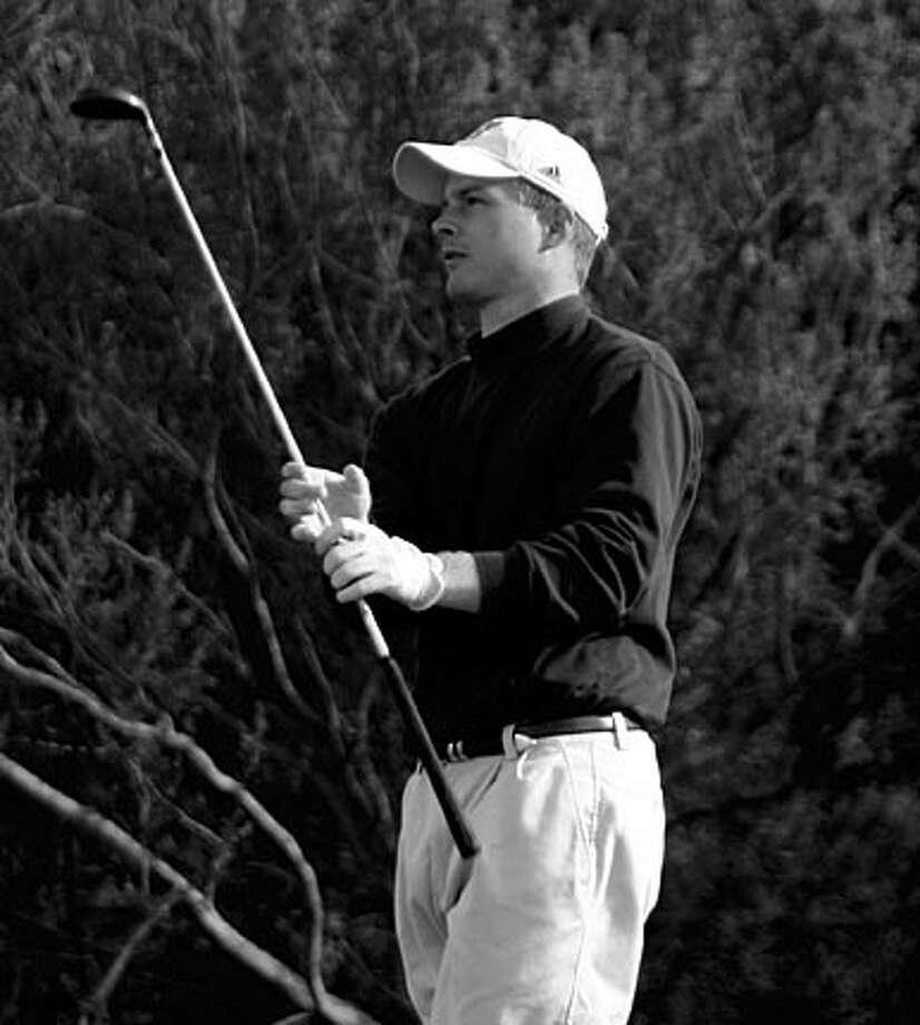 Sonoma State golfer Adam Lewis. Photo Courtesy Brendan Galten Photo: Photo Courtesy