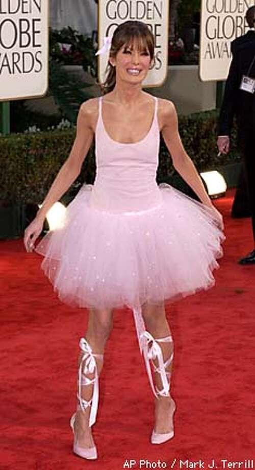 Actress Lara Flynn Boyle arrives for the 60th Annual Golden Globe Awards in Beverly Hills, Calif. , on Sunday, Jan. 19, 2003. AP Photo / Mark J. Terrill Photo: MARK J. TERRILL