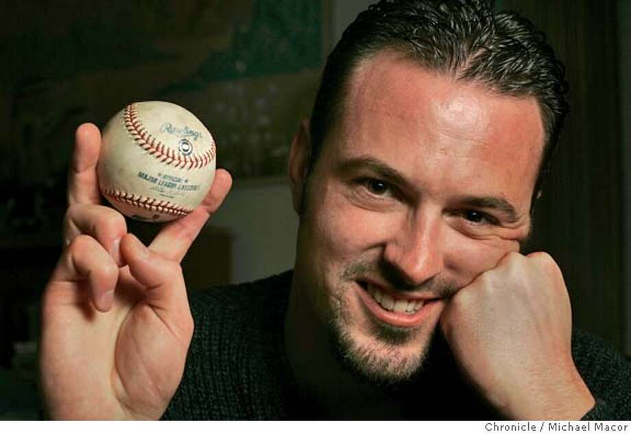 bondsball_010_mac.jpg Williams with the ball that went for $804,129 on ebay . The auction for Barry Bonds' 700th homerun ball ends Wednesday. Steven Williams, the Pacifica man who has the ball, and his lawyers will hold a press conference announcing the winning bidder after the sale ends.  10/27/04 Pacifica, CA Michael Macor / San Francisco Chronicle Mandatory Credit for Photographer and San Francisco Chronicle/ - Magazine Out Metro#Metro#Chronicle#10/28/2004#ALL#5star##0422435832 Photo: Michael Macor