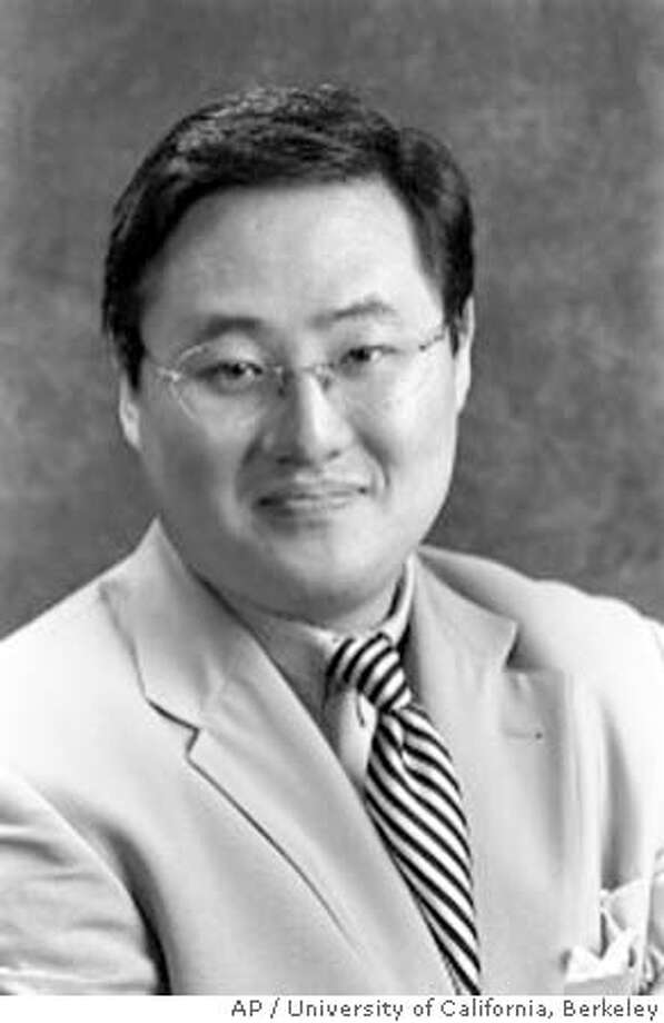 "This is an undated photo of John Yoo, professor of law at the University of California at Berkeley. Students at the University of California, Berkeley's Boalt School of Law say a legal memo that Yoo co-wrote while working for the U.S. Department of Justice ""contributed directly to the reprehensible violation of human rights in Iraq and elsewhere,"" according to a petition being circulated among students and faculty. (AP Photo/University of California, Berkeley) John Yoo John Yoo Ran on: 06-12-2004  UC law professor John Yoo Ran on: 06-12-2004  ProductName	Chronicle BEST QUALITY Nation#MainNews#Chronicle#10/24/2004#ALL#5star##0421780157"