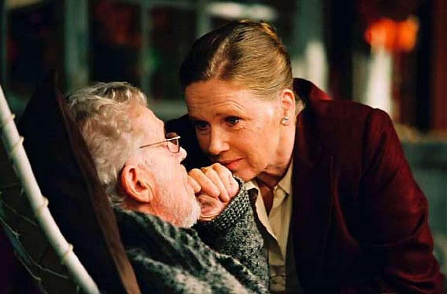 Ingmar Bergman's SARABAND playing at the 48th San Francisco International Film Festival, April 21-May 5. Erland Josephson as Johan and Liv Ullman as Marianne. Sony Pictures Classics