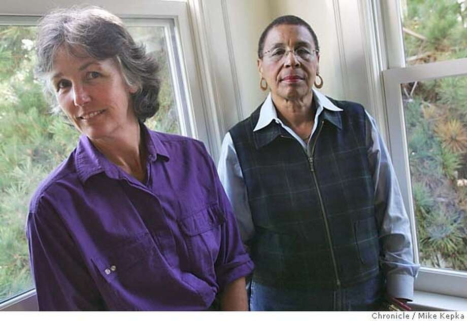 Laura Menard and Frankie Fraser led the charge against a proposed medical marijuana dispensary in south Berkeley. 10/20/04  MIKE KEPKA/The Chronicle Photo: MIKE KEPKA