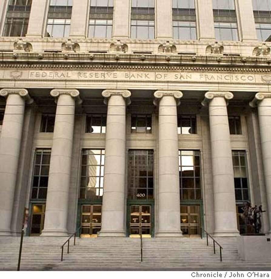 400 SANSOME ST. SAN FRANCIDCO, CA.  Federal Reserve Bldg. 400 Sansome st. Purchased by Bently Holdings, a bay area boutique real estate investment firm.  Photo/John O'hara Photo: JOHN O'HARA