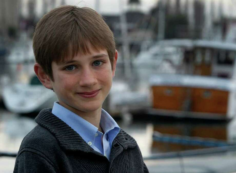 To prepare to play a boy who lost his father in the Sept. 11 attacks, Thomas Horn, 14, watched video of the attacks and spoke with people who lost loved ones that day. Photo: San Francisco Chronicle / ONLINE_YES