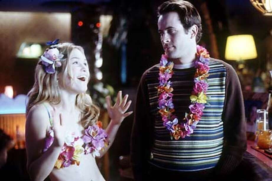 M-459 Becky (JULIA STILES) is a new-to-the-business hula girl at Paul�s (JASON LEE) bachelor party in MGM Pictures� comedy A GUY THING.