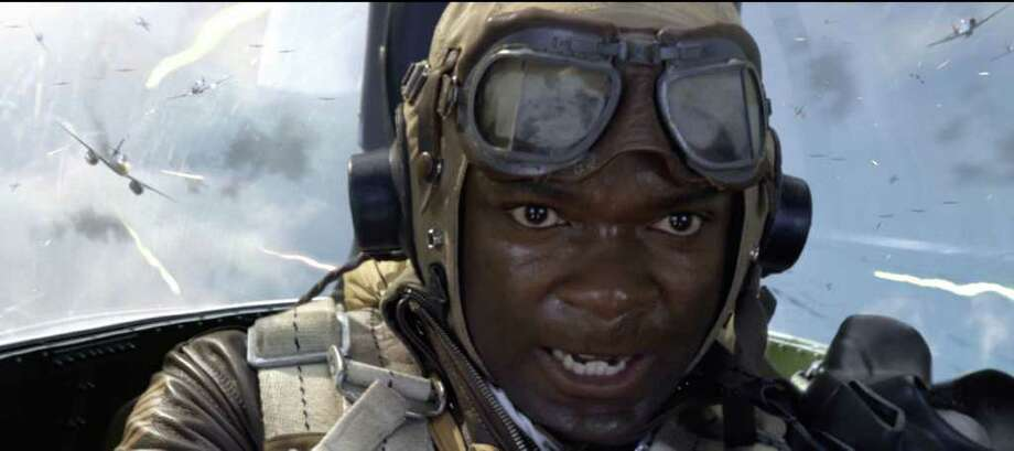 "Joe ""Lightning"" Little (David Oyelowo) fights for his life in Red Tails. / © Lucasfilm Ltd. and TM. All Rights Reserved."