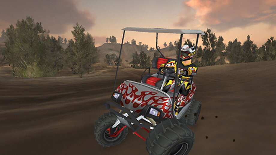 Video game clip of Mx vs. ATV Unleashed.