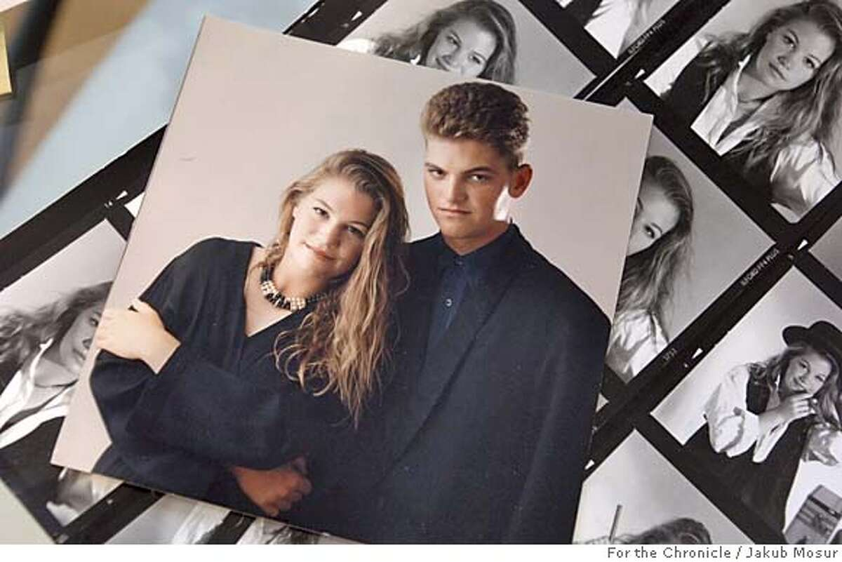 RuzickaFamily_07_JMM.JPG A high school photo of Marla Ruzicka and her twin brother Mark Ruzicka sits on the dining room table of the Ruzicka home after their daughter Marla Ruzicka, 28, died in a car bomb attack in Iraq. Event on 4/18/05 in Lakeport. JAKUB MOSUR / The Chronicle MANDATORY CREDIT FOR PHOTOG AND SF CHRONICLE/ -MAGS OUT