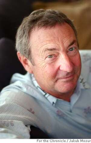 Pink Floyd drummer Nick Mason, having written a book about his experiences with the band, visits San Francisco to promote the book's release.Event on 4/15/05 in San Francisco. JAKUB MOSUR / The Chronicle MANDATORY CREDIT FOR PHOTOG AND SF CHRONICLE/ -MAGS OUT Photo: JAKUB MOSUR