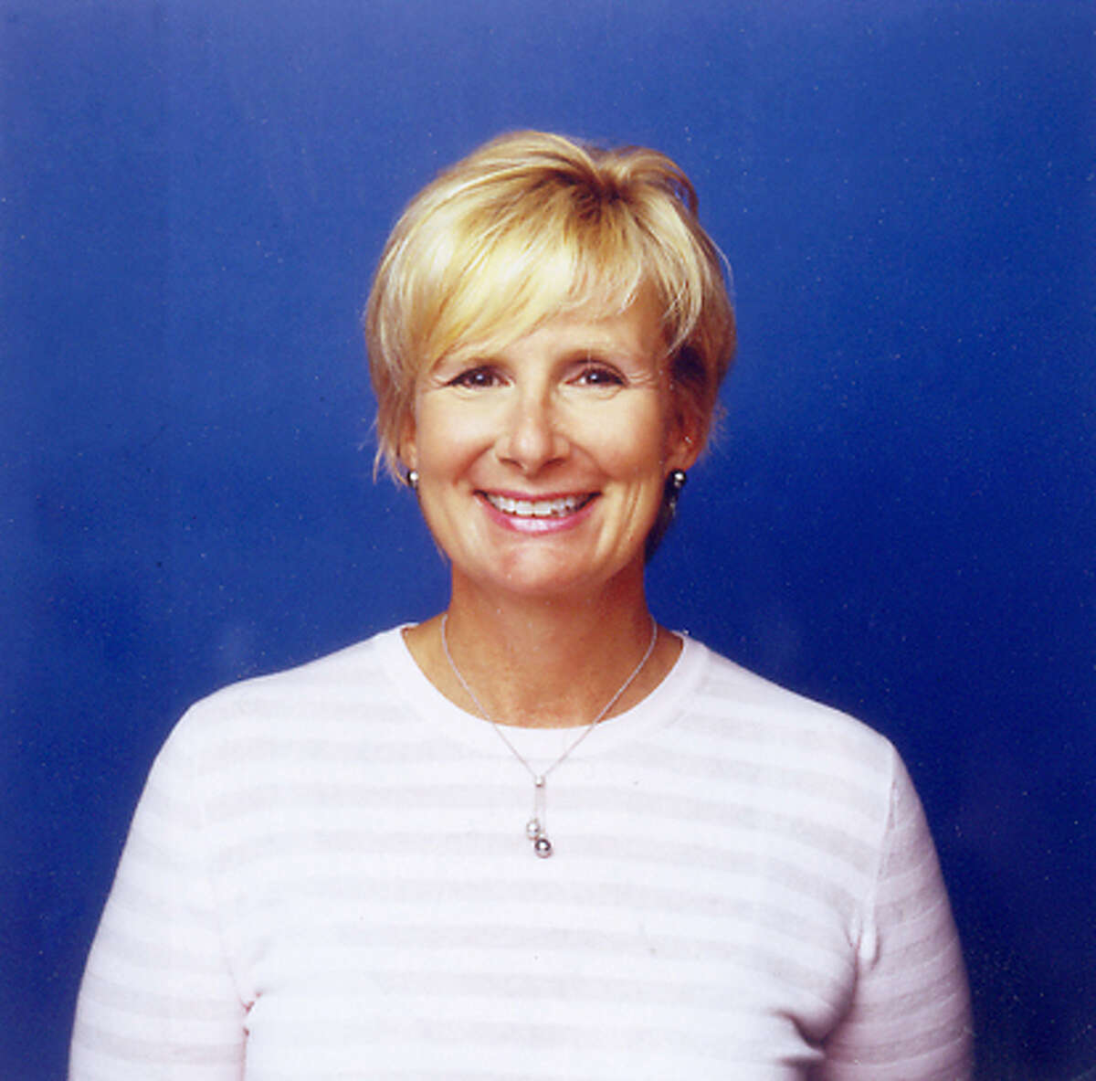 Photo of Cynthia Harriss, the new president of Gap brand (former president of Gap Outlet).
