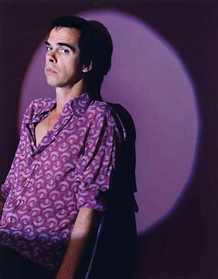 Nick Cave  of Nick Cave and the Bad Seeds Datebook#Datebook#SundayDateBook#10-24-2004#ALL#Advance##0422413813 Photo: Www.nickcaveandthebadseeds.com