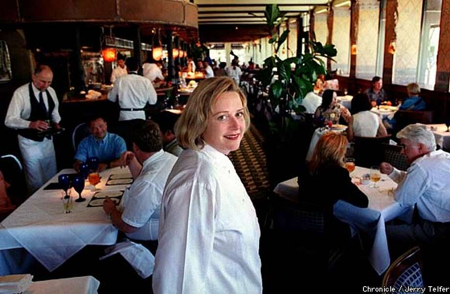 Lunch Deal: Nancy Oakes of Boulevard is one of dozens of chefs who are offering deals this month, as long a diners pay with VISA or cash. Chronicle photo by Jerry Telfer