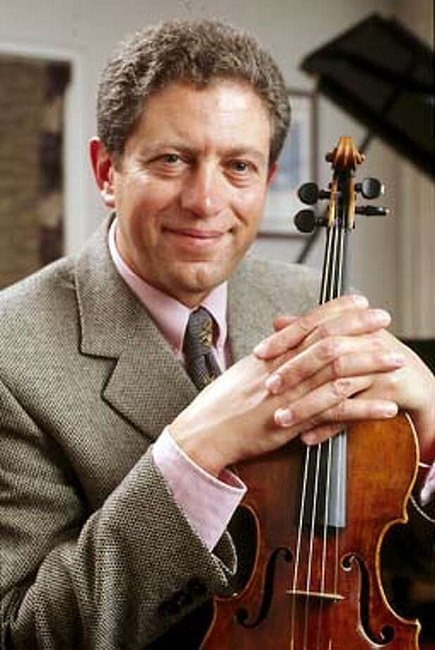 Russian-born Concertmaster Alexander Barantschik champions the Schnittke concerto with mastery of wit. Robert Schumann�s Spring  HANDOUT PHOTO/VERIFY RIGHTS AND USEAGE Photo: HANDOUT