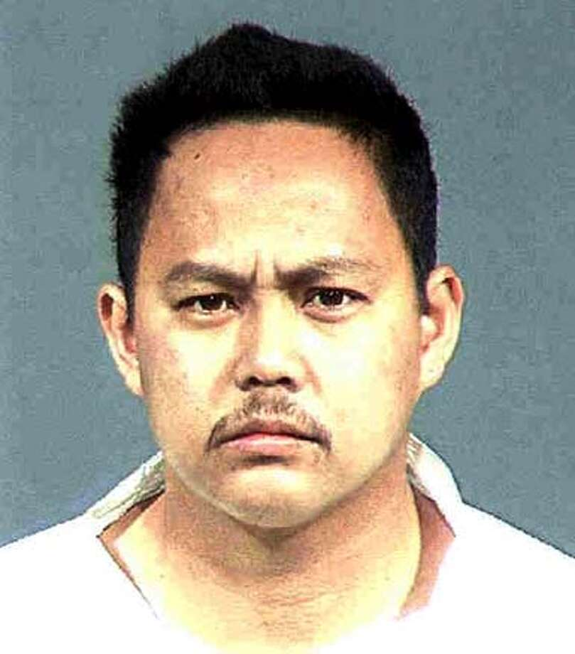 Emil Paguio was arrested after the fatal stabbing of his niece and booked into Santa Clara County Jail.