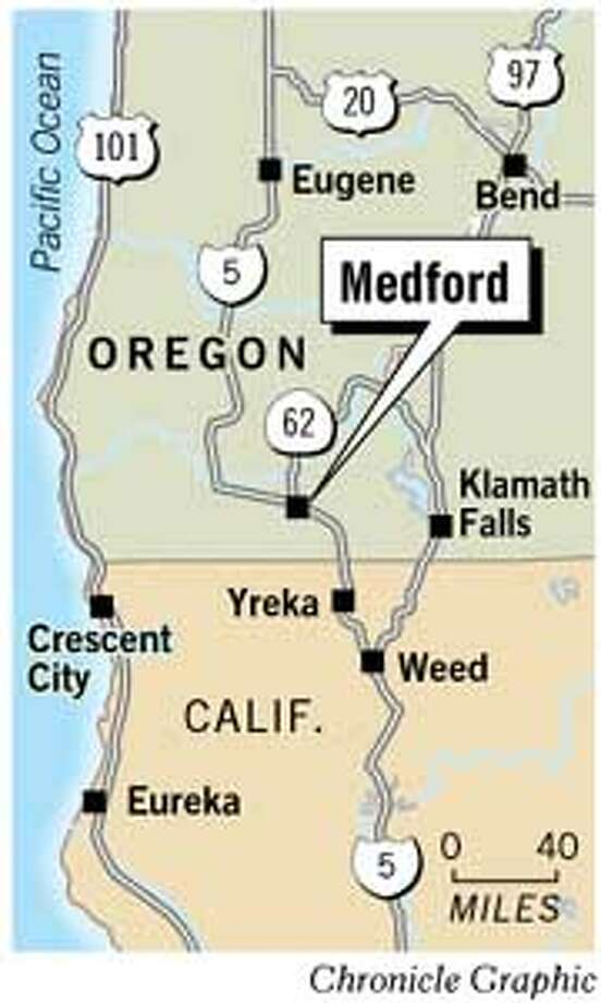 Medford, Oregon. Chronicle Graphic