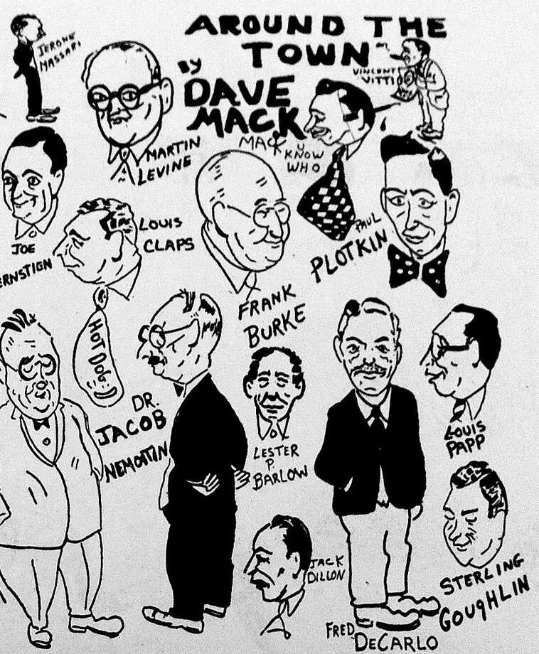 Samples of the work of Dave Mack, a DPW foreman who used to write a column for The Advocate about regular folks in Stamford. Photo: Contributed Photo