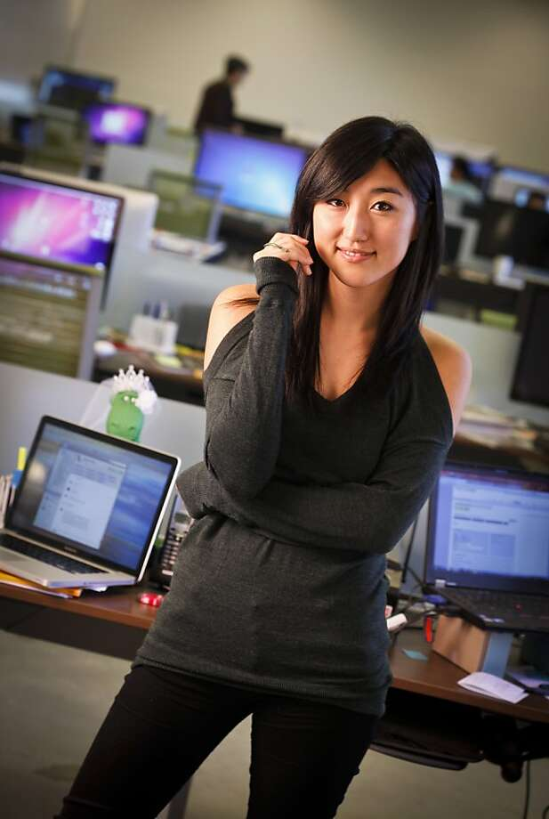 Jess Lee, co-founder of Polyvore, is seen in their Mountain View, Calif., office on Friday, Oct. 21, 2011. Photo: Russell Yip, The Chronicle