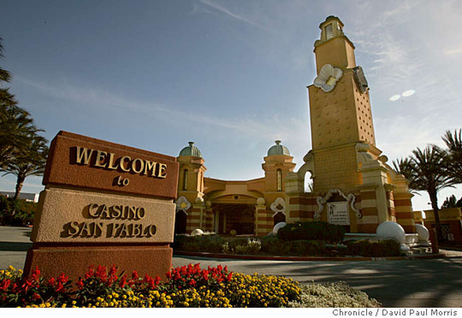 Casino San Pablo, located just off Interstate 80 in San Pablo, is now owned by the formerly landless Lytton Band of Pomo Indians. Chronicle photo by David Paul Morris