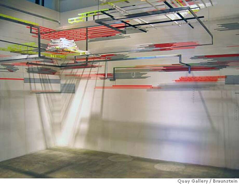 """Cappella"" (2005) mixed media installation by Judy Pfaff  �  �  Courtesy of Braunstein/Quay Gallery, San Francisco Photo: Judy Pfaff"