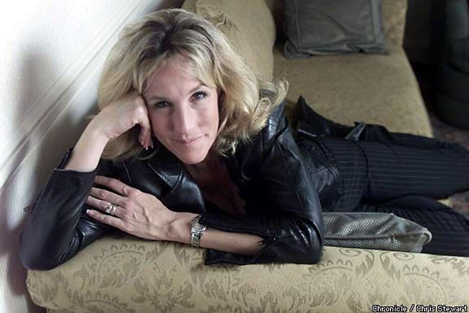 Erin Brockovich, made famous by the Julia Roberts movie that bears her name, has her own show. Chronicle photo by Chris Stewart
