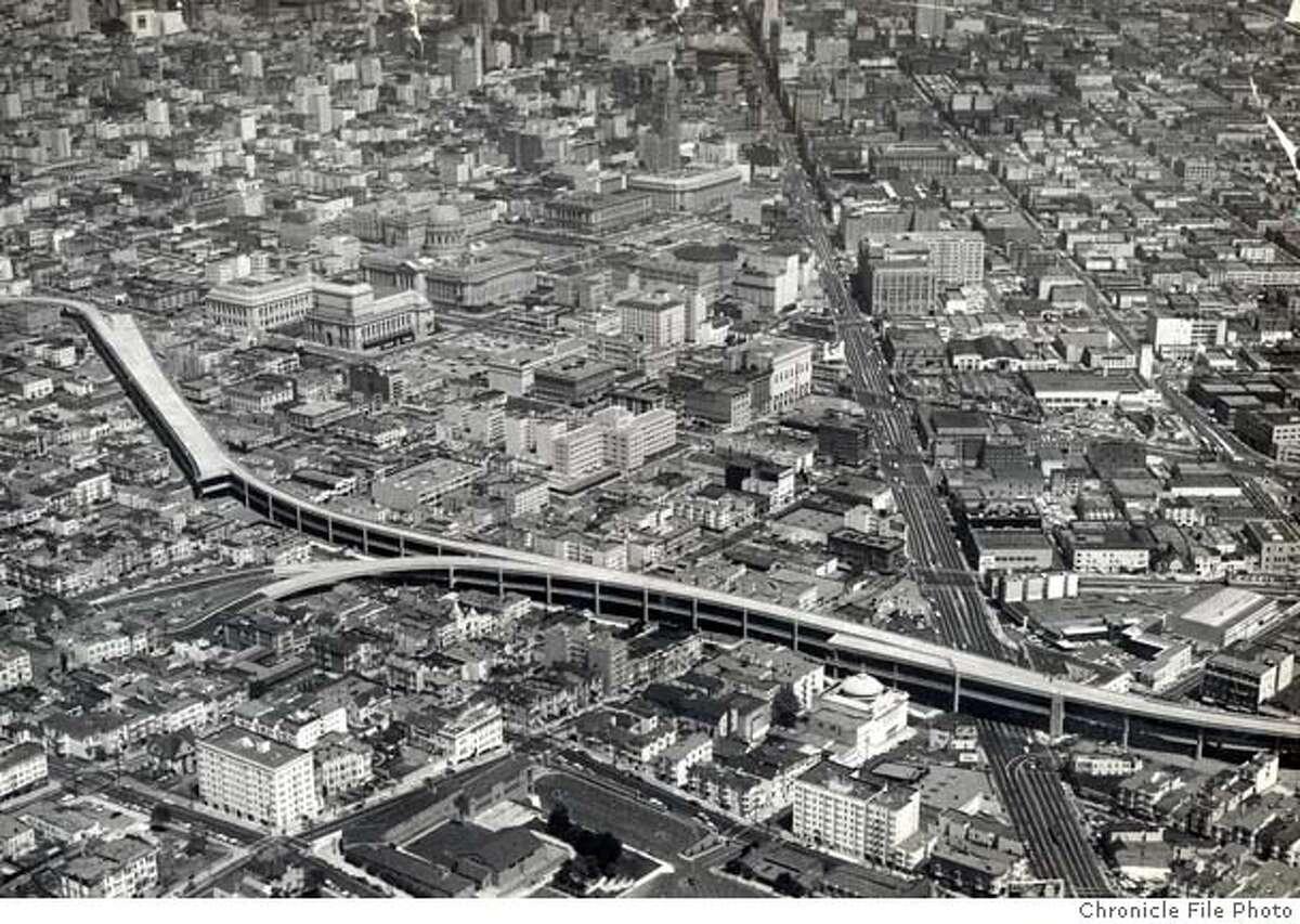 San Francisco's central freeway.